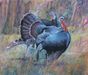 Two Gobblers